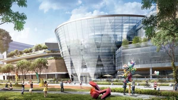 Simulación. Así sería el frente del nuevo edificio si la Legislatura habilita su construcción.