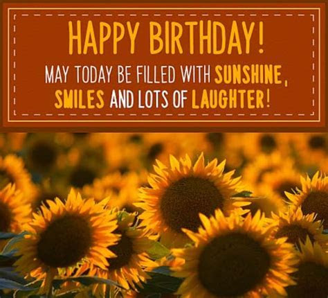 Birthday Sunflowers! Free Flowers eCards, Greeting Cards