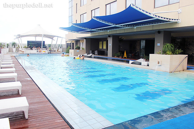 Bellevue Manila Swimming Pool at Tower Wing