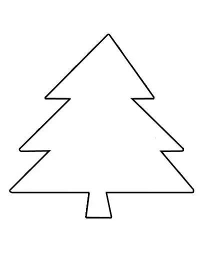 Dibujo Arbolito De Navidad