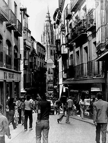 Toledo, Calle Ancha en los años 70