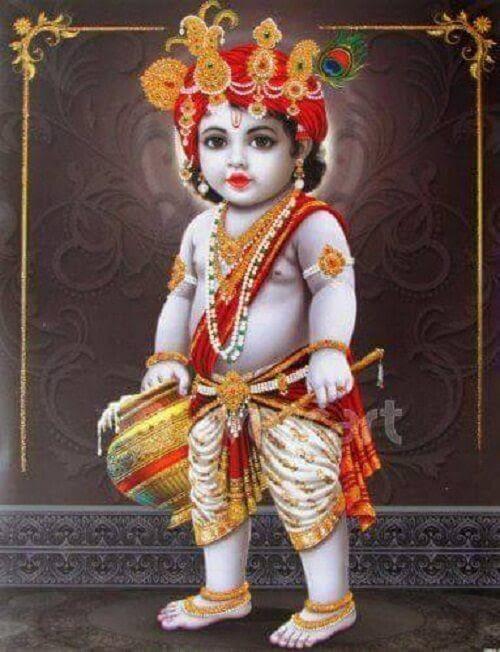 Newborn Baby Little Krishna Cute Images Newborn Baby