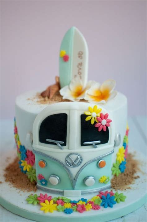 Hippie surf cake   Cake   Pinterest   Surf cake, Surf and Cake