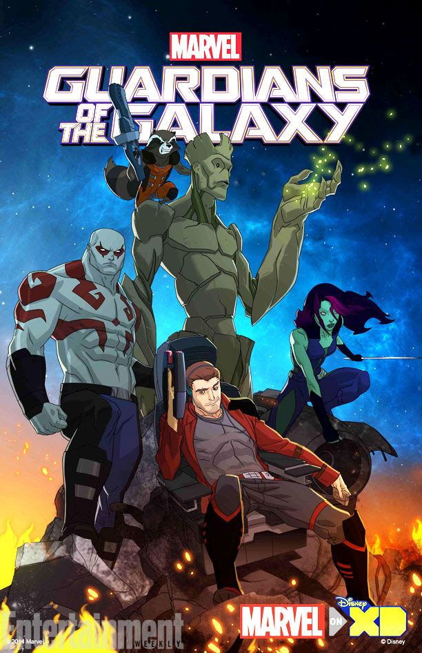 First look at Marvel's animated Guardians of the Galaxy TV show