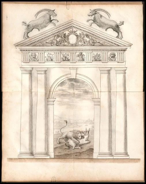 Architectura Regia (Goats + lion)
