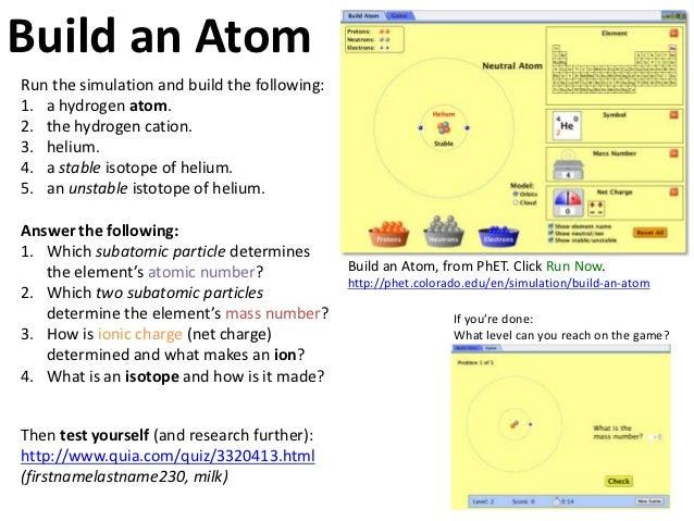 34 Build An Atom Worksheet Answer Key Phet   Worksheet ...