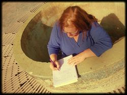 Fountain writing
