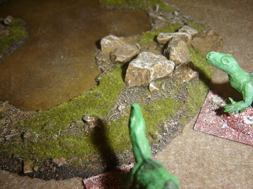 Iguanadons spooked by near miss