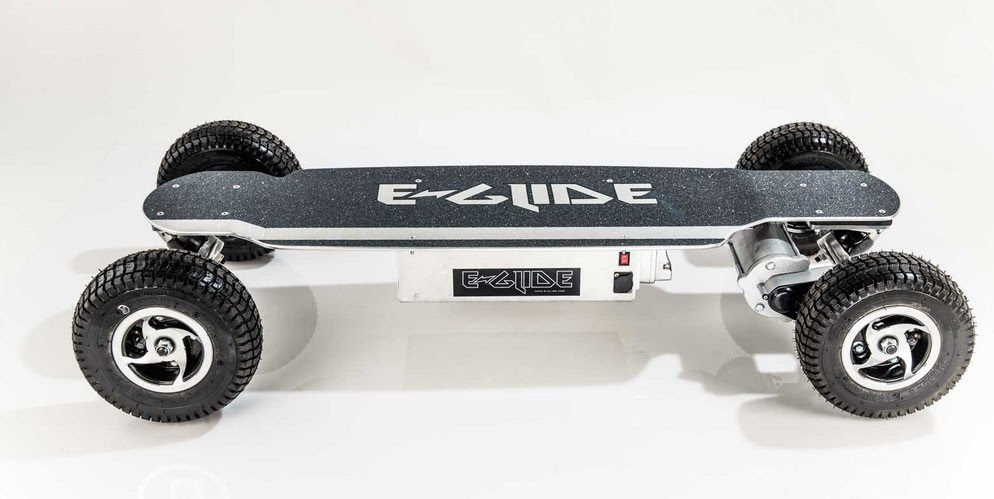 How About an AllTerrain ESkateboard for a Change?  autoevolution