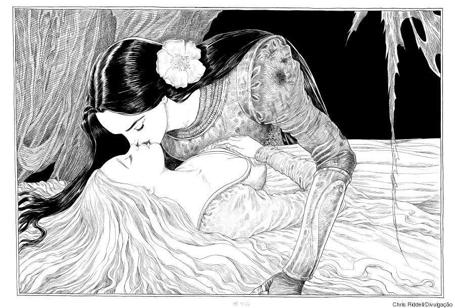 Resultado de imagem para a bela e a adormecida neil gaiman