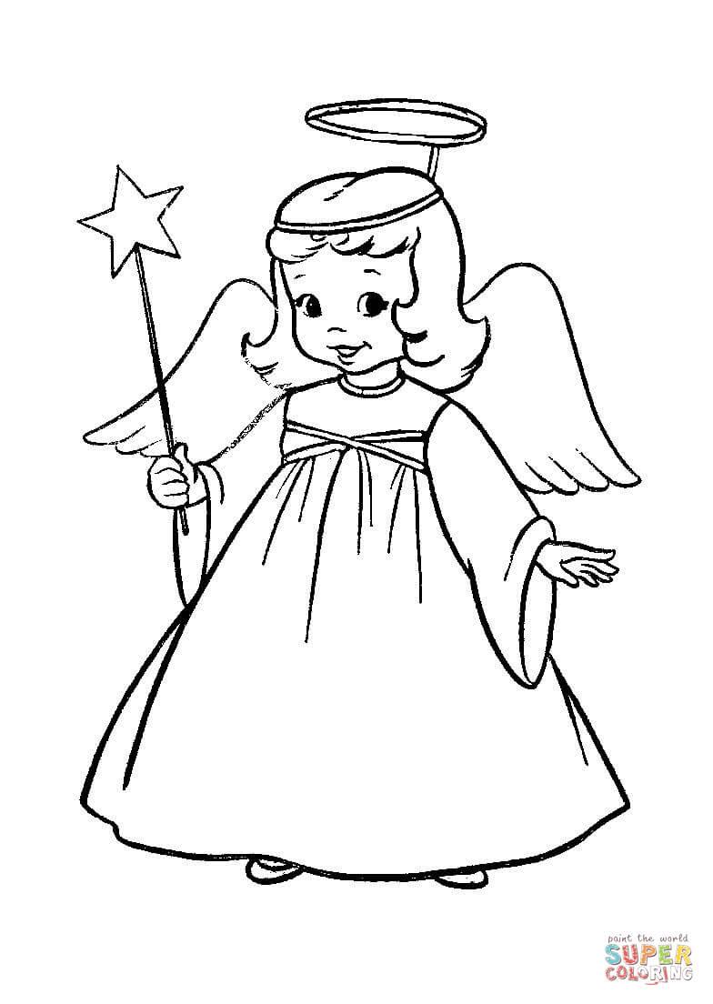 Klick das Bild Ein Engel in einem Weihnachtsstück