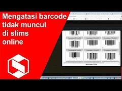 Cara Mudah Mengatasi Barcode Buku dan Kartu di Slims Online Tidak Tampil
