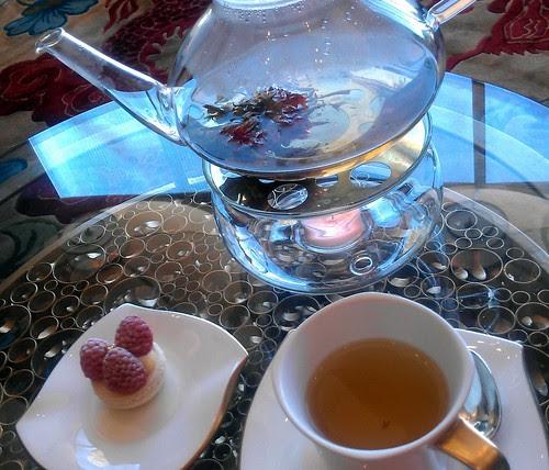 Tea and Macaron