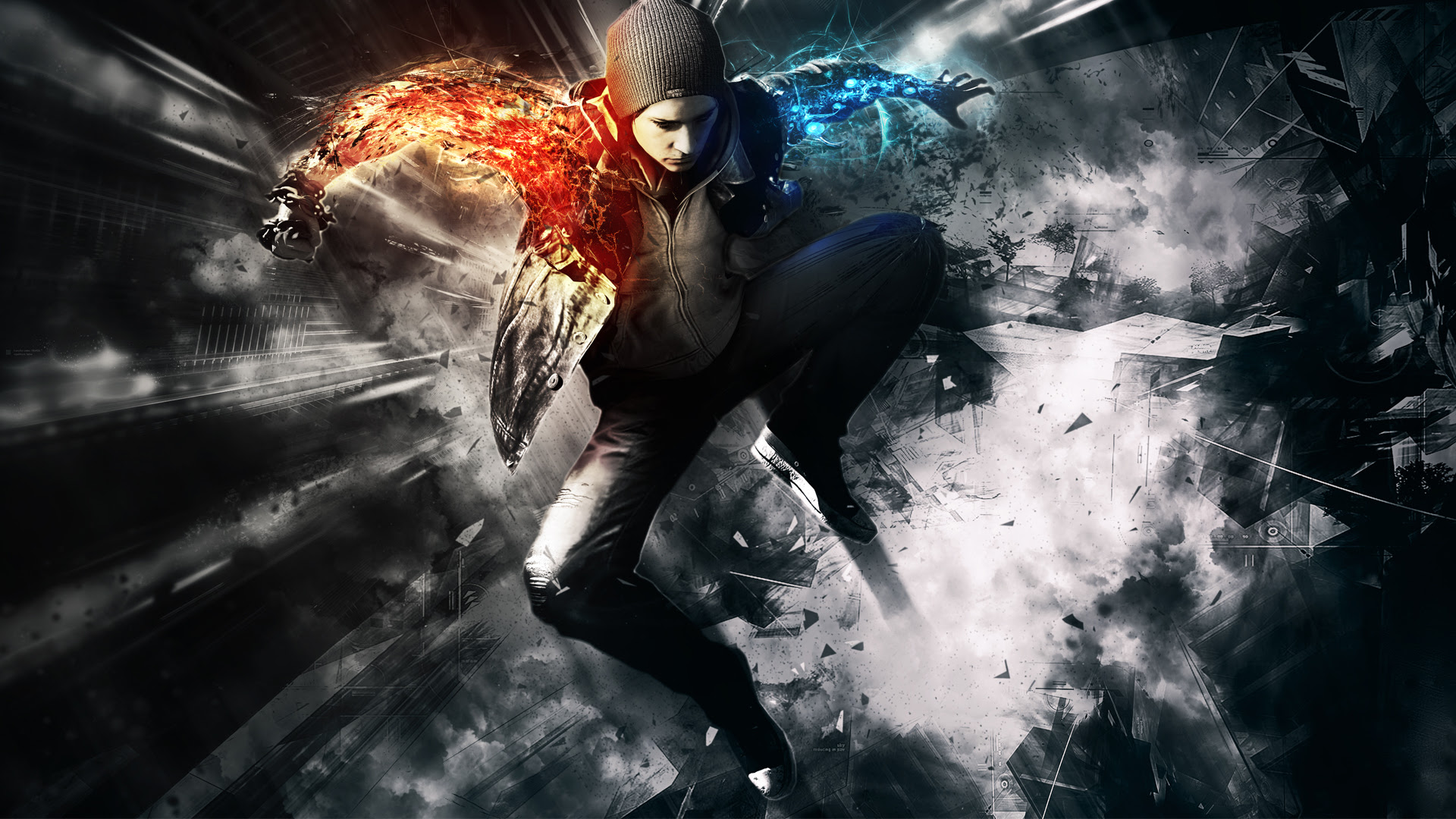 Infamous Second Son Wallpapers  Best Wallpapers