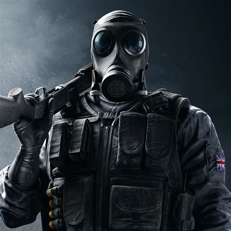 wallpaper tom clancys rainbow  siege sas smoke