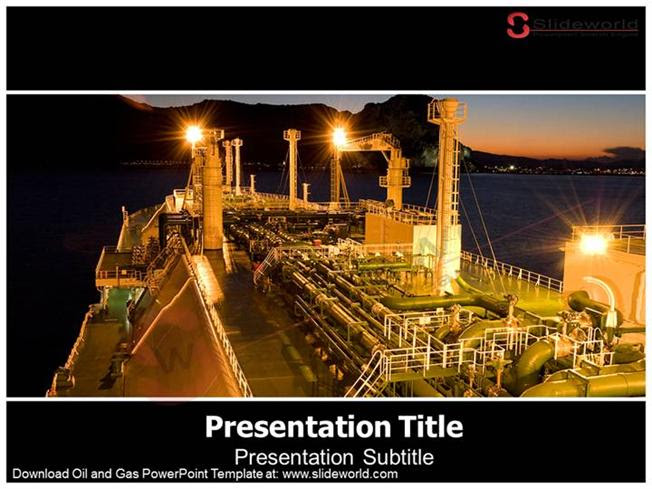 Oil And Gas Powerpoint Template Slide World Authorstream