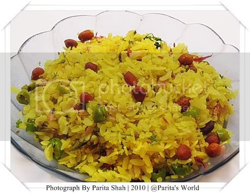 Maharashtrian,Beaten Rice Flakes,Kande Pohe,Poha
