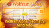 Wolfram Alpha Examples Geometry, Interactive Mind Map.