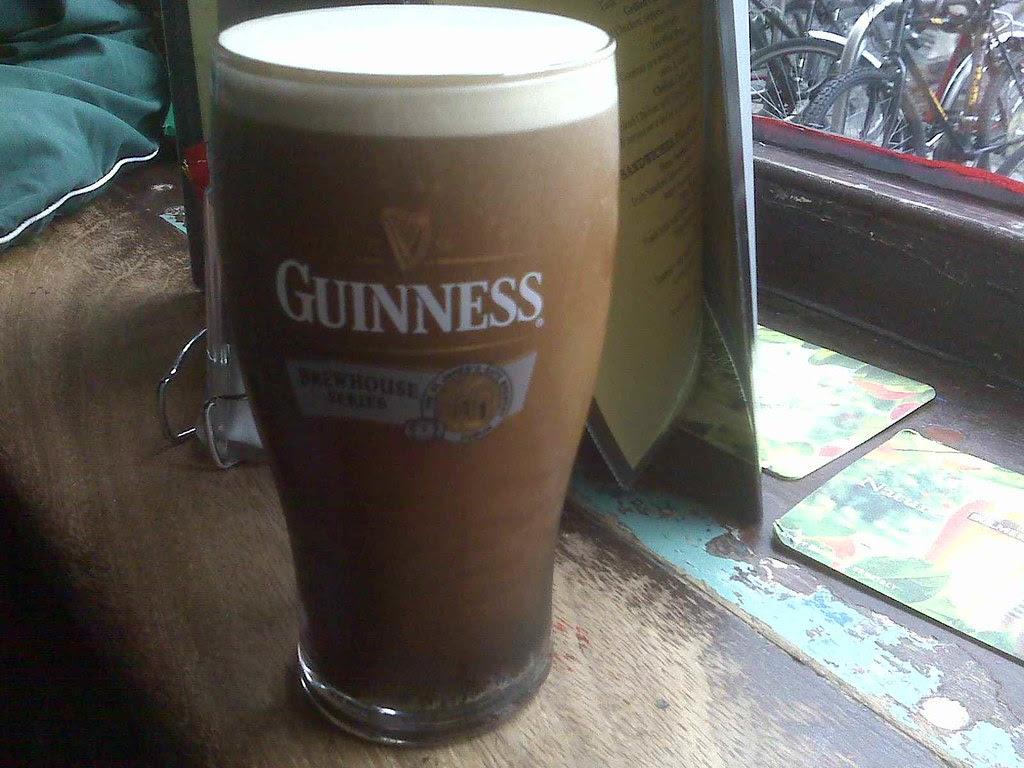 Guinness in Farrington's pub, Dublin