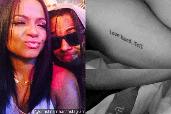 Christina Milian Gets New Tattoo Inspired by Boyfriend Lil Wayne