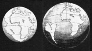 expanding earth theory growing