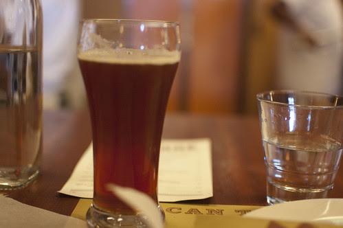 mozza, beer