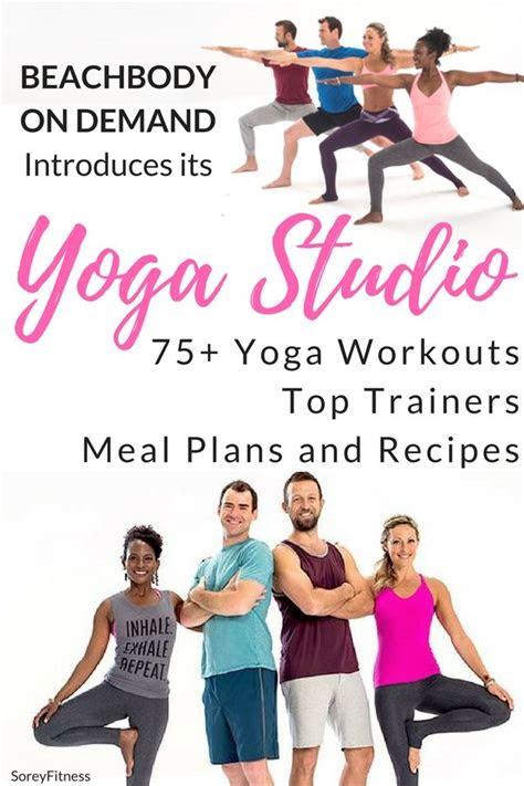 beachbody  demand yoga studio fitness  workouts