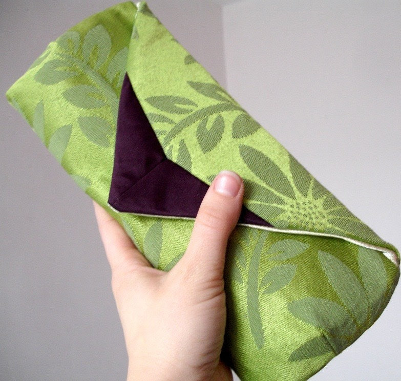 Yerbabuena Clutch Made to Order