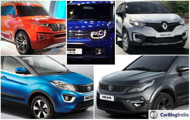 Upcoming Suvs In India Under 15 Lakhs