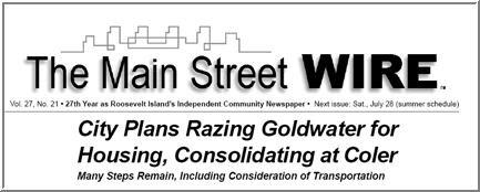 2007 June 30 Issue Wire Headline