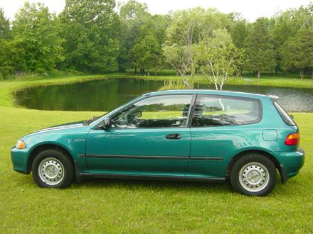 1995 civic hatchback weight