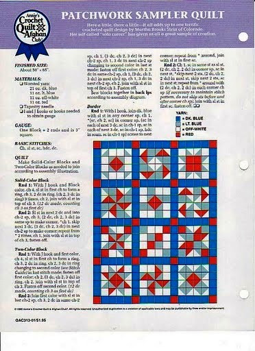 Patchwork Sampler Quilt 2 (372x512, 87Kb)