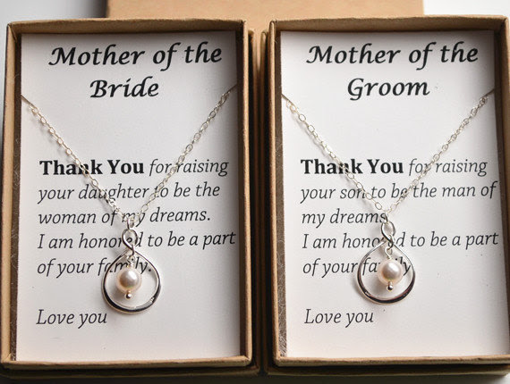 Mother Of The Bride Gift Necklace Wedding Gift Jewelry For Mother