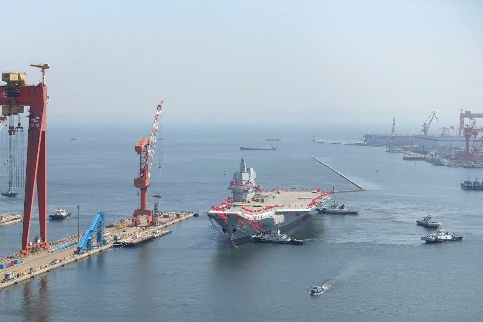 Hasta ahora China solo contaba con un portaaviones, el 'Liaoning', fabricado de un antiguo buque ucraniano comprado en 1998.