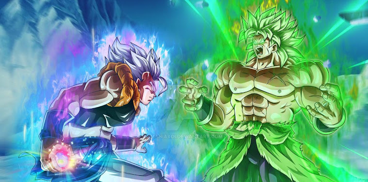 Gogeta Vs Broly Wallpaper