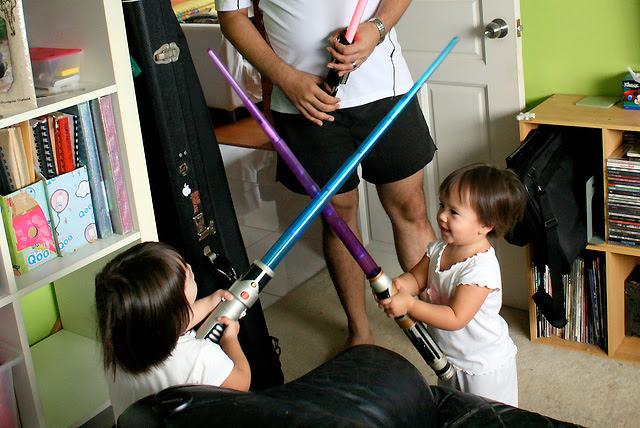 Young padawans in training