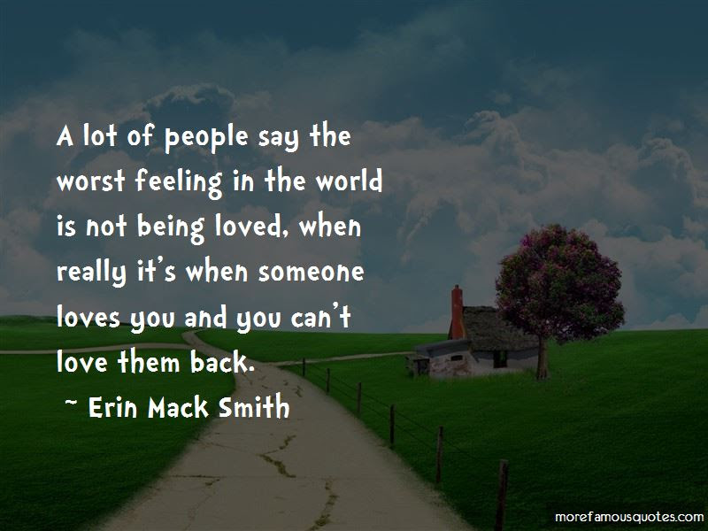 Quotes About Not Feeling Loved Back Top 7 Not Feeling Loved Back