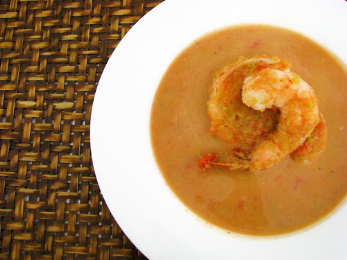 shrimp salsa bisque