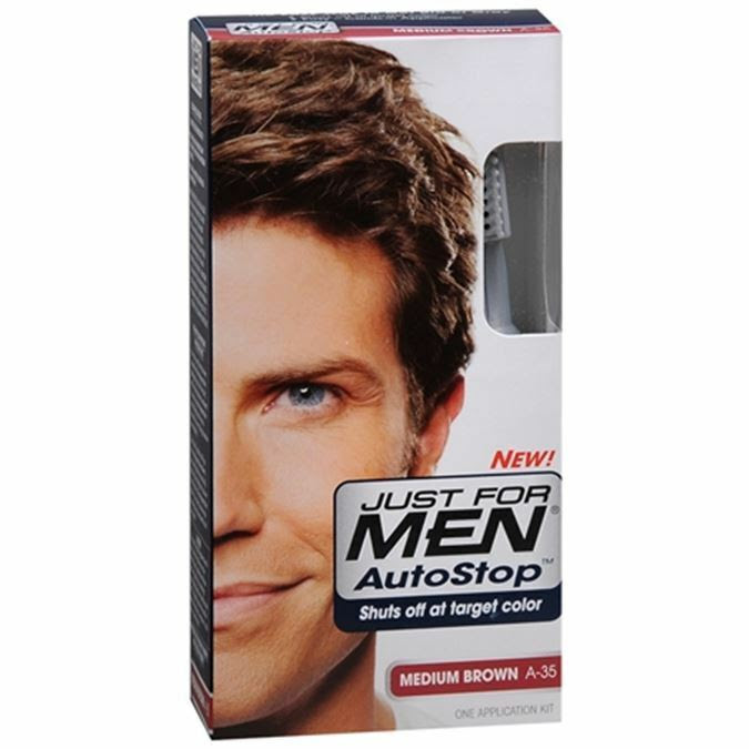 JUST FOR MEN AutoStop Haircolor Medium Brown A35 1 Each  eBay
