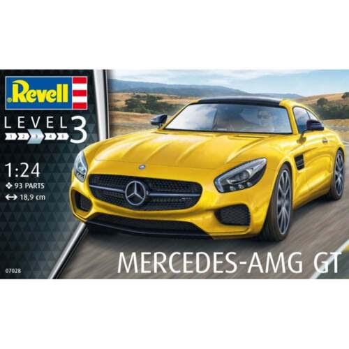 Revell 1:24 Scale Mercedes AMG GT Model Car Kit  07028  eBay