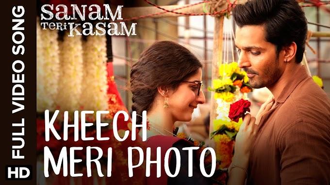 Kheech Meri Photo Lyrics - Sanam Teri Kasam | LYRICSADVANCE