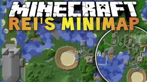 Minecraft MOD | Rei's Minimap (1.7.10)