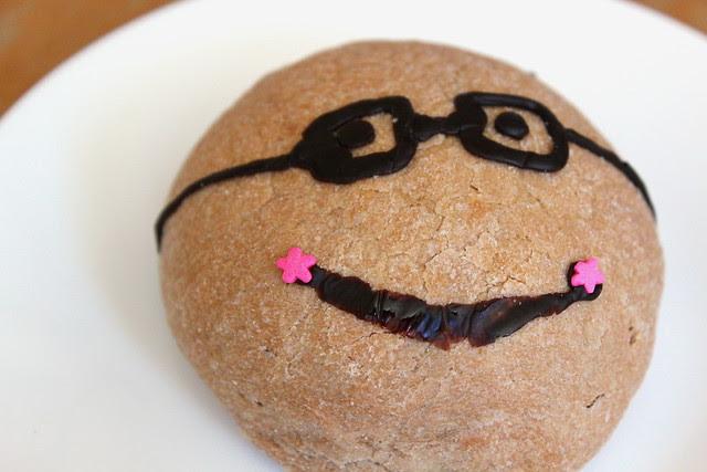 Mini Choco Melon Bread