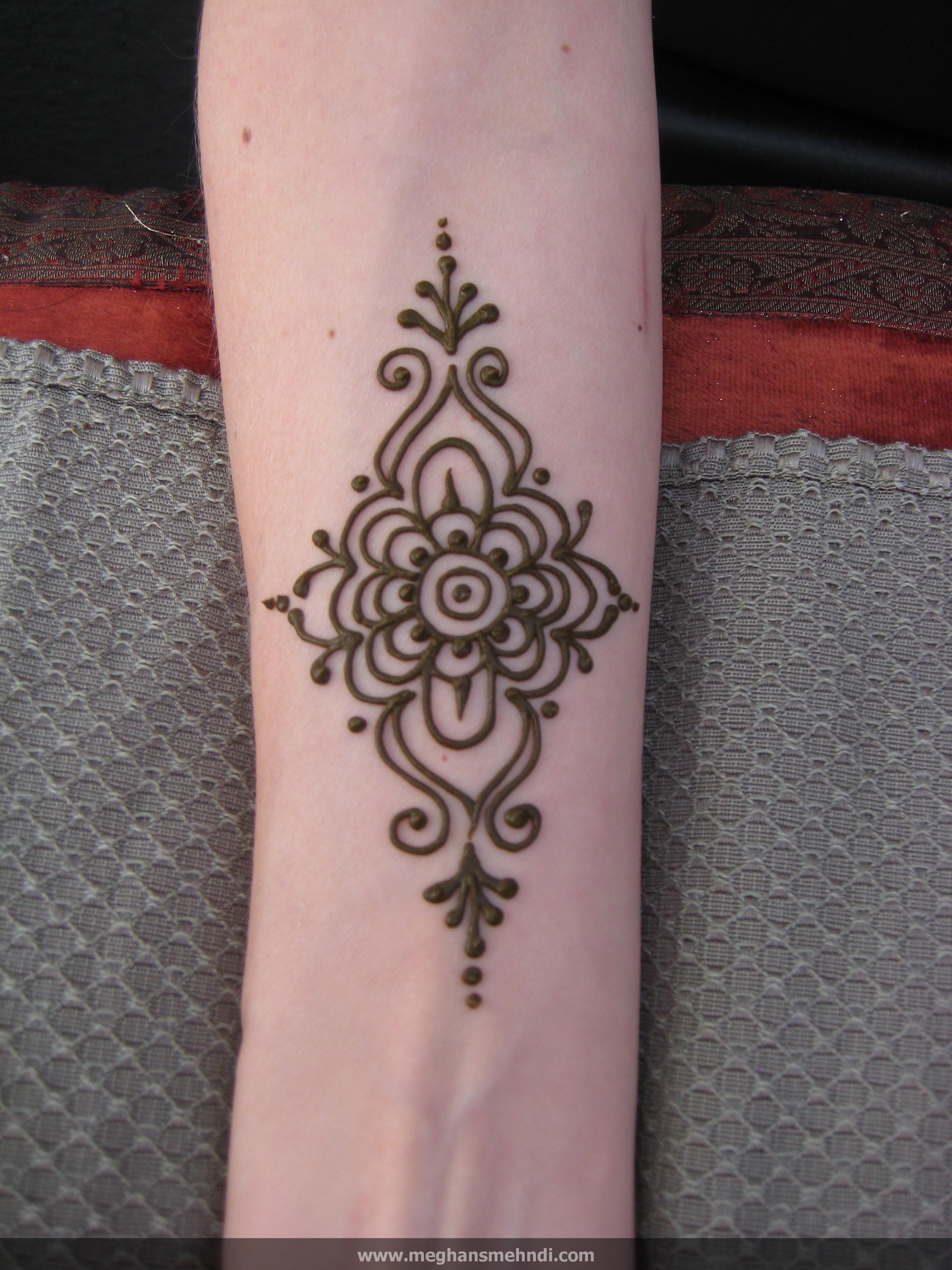 Gambar Henna Telapak Tangan Simple Untuk Pemula Balehenna