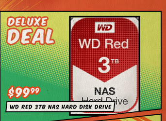 Deluxe Deal - WD Red 3TB NAS Hard Disk Drive