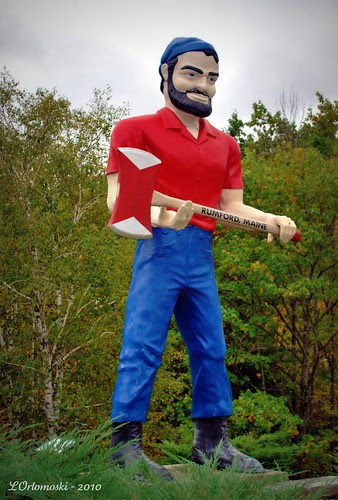 Paul Bunyon in Rumford, Maine