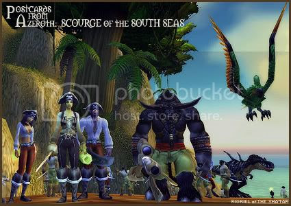 Postcards from Azeroth: Scourge of the South Seas