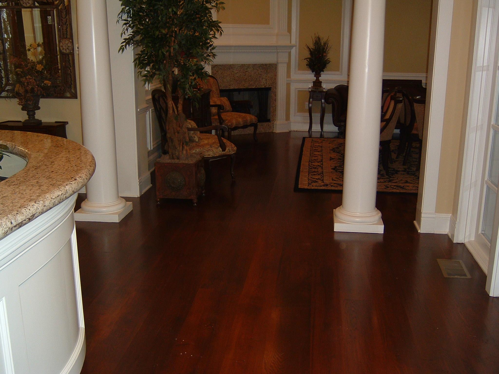 Wide Plank Rustic White Oak with Stain | Ozark Hardwood Flooring