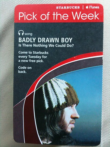 Starbucks iTunes Pick of the Week - Badly Drawn Boy - Is There Nothing We Could Do?