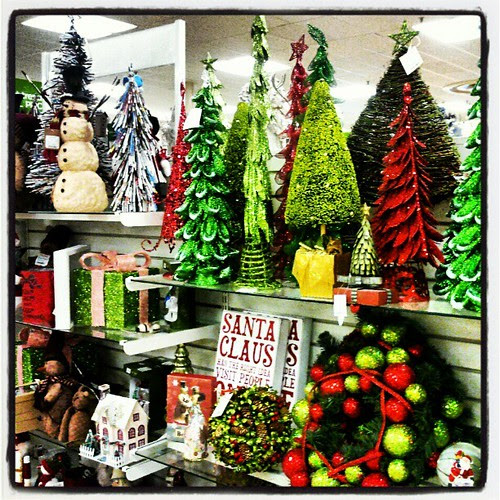 Tis the season at TJ Maxx! #christmas #trees #wreath #snowman #decorations #santa #tooearly